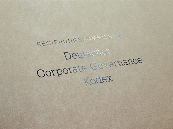 Logo Deutscher Corporate Governance Kodex